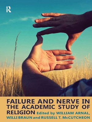 cover image of Failure and Nerve in the Academic Study of Religion
