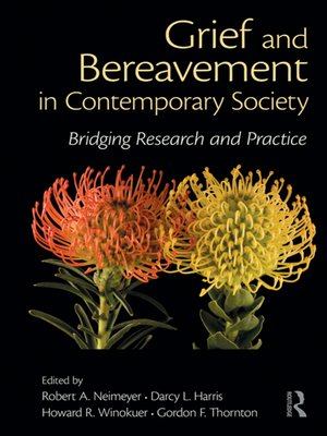 cover image of Grief and Bereavement in Contemporary Society