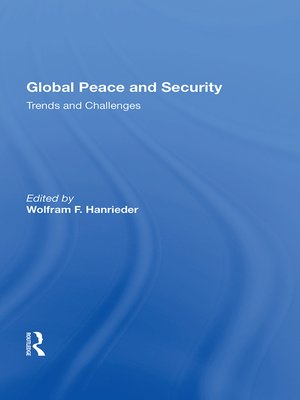 cover image of Global Peace and Security