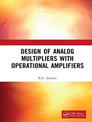cover image of Design of Analog Multipliers with Operational Amplifiers