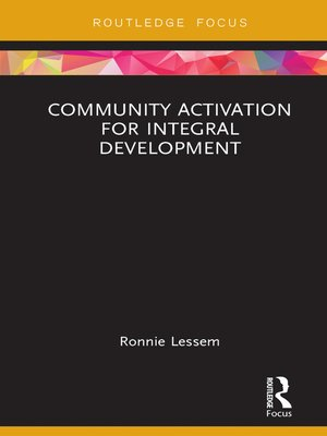 cover image of Community Activation for Integral Development
