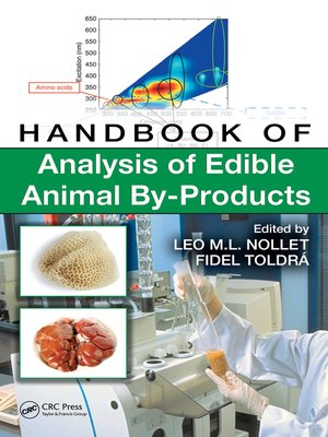 cover image of Handbook of Analysis of Edible Animal By-Products