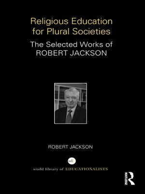 cover image of Religious Education for Plural Societies
