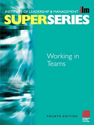 cover image of Working in Teams