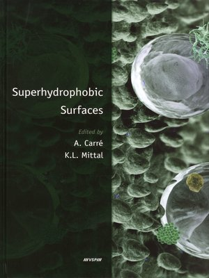 cover image of Superhydrophobic Surfaces