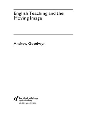cover image of English Teaching and the Moving Image