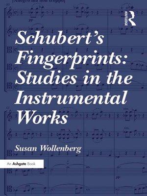 cover image of Schubert's Fingerprints
