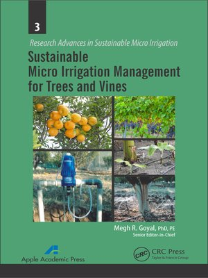 cover image of Sustainable Micro Irrigation Management for Trees and Vines