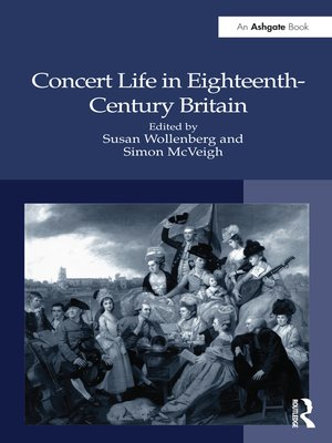 cover image of Concert Life in Eighteenth-Century Britain