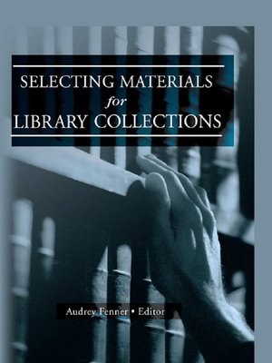 cover image of Selecting Materials for Library Collections