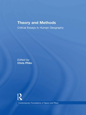 cover image of Theory and Methods