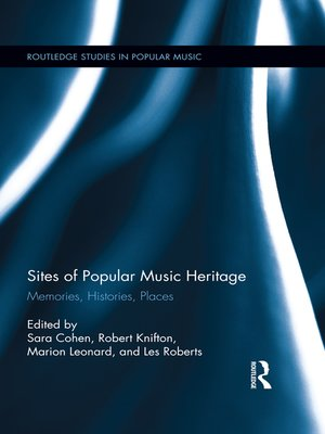 cover image of Sites of Popular Music Heritage