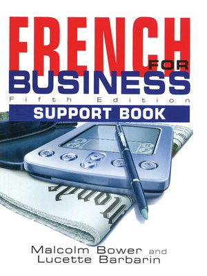 cover image of French for Business