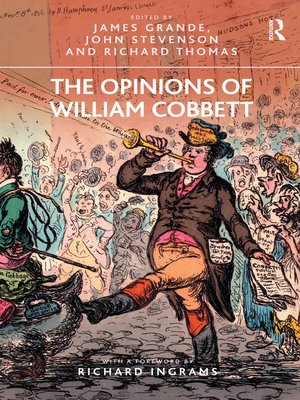 cover image of The Opinions of William Cobbett
