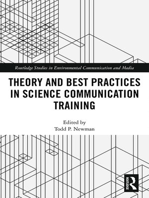 cover image of Theory and Best Practices in Science Communication Training