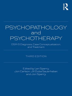 cover image of Psychopathology and Psychotherapy