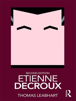 cover image of Etienne Decroux