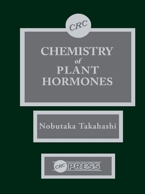 cover image of Chemistry of Plant Hormones