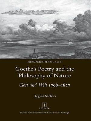cover image of Goethe's Poetry and the Philosophy of Nature