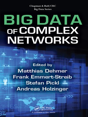 cover image of Big Data of Complex Networks