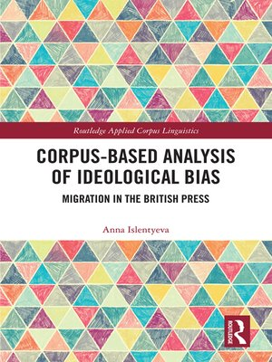 cover image of Corpus-Based Analysis of Ideological Bias