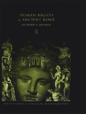 cover image of Human Rights in Ancient Rome