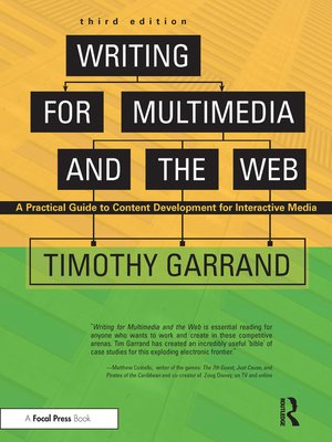 cover image of Writing for Multimedia and the Web
