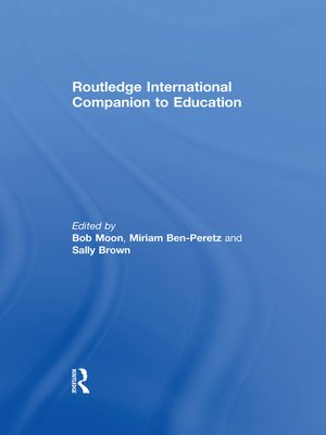 cover image of Routledge International Companion to Education