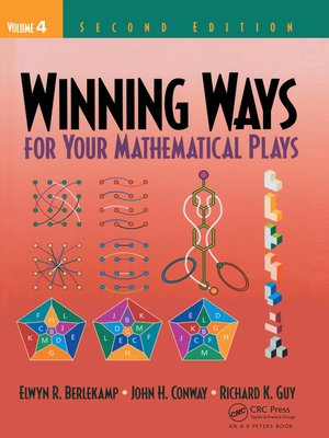 cover image of Winning Ways for Your Mathematical Plays, Volume 4
