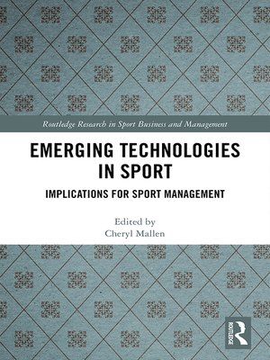 cover image of Emerging Technologies in Sport