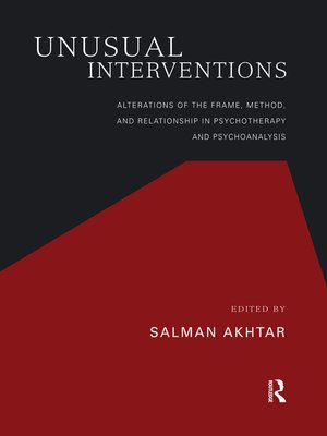 cover image of Unusual Interventions