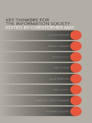 cover image of Key Thinkers for the Information Society