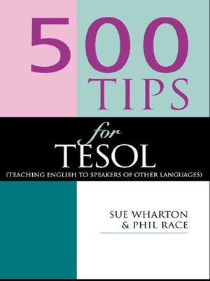 cover image of 500 Tips for TESOL Teachers