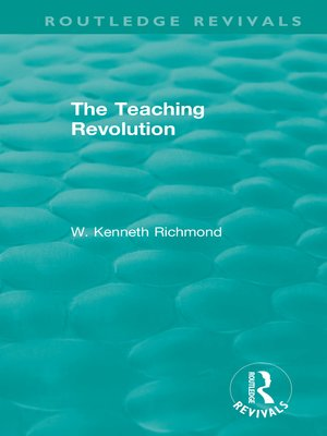 cover image of The Teaching Revolution