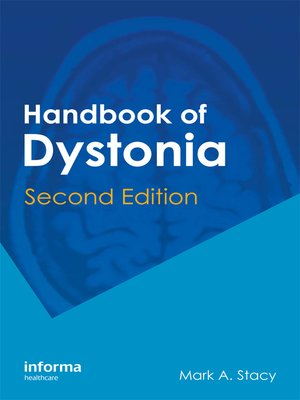 cover image of Handbook of Dystonia