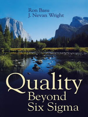 cover image of Quality Beyond Six Sigma