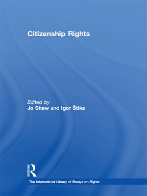 cover image of Citizenship Rights