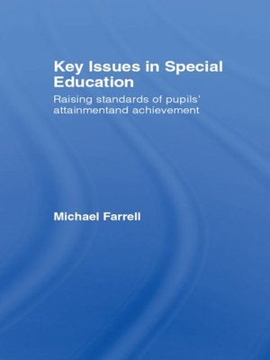 cover image of Key Issues In Special Education