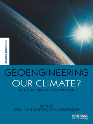 cover image of Geoengineering our Climate?