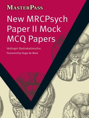 cover image of New MRCPsych Paper II Mock MCQ Papers