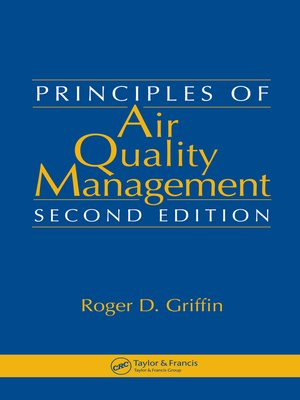 cover image of Principles of Air Quality Management
