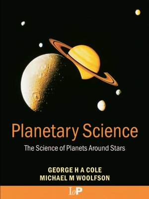 cover image of Planetary Science