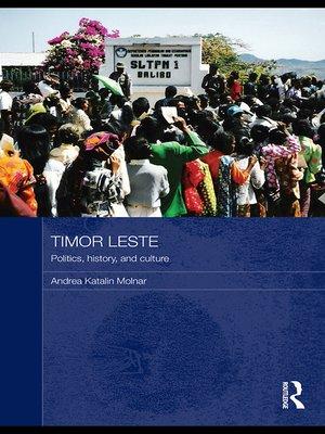 cover image of Timor Leste