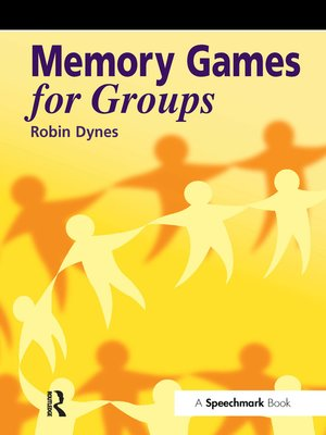 cover image of Memory Games for Groups