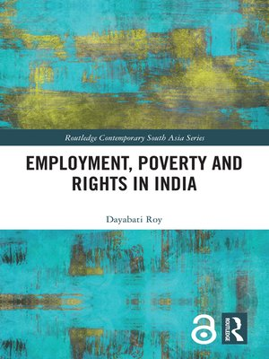 cover image of Employment, Poverty and Rights in India