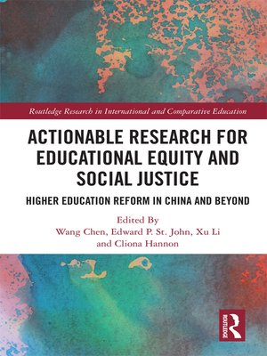 cover image of Actionable Research for Educational Equity and Social Justice