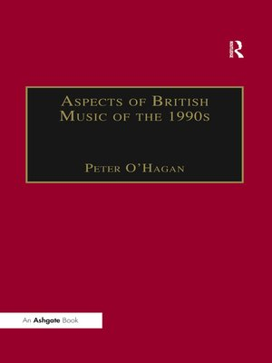 cover image of Aspects of British Music of the 1990s