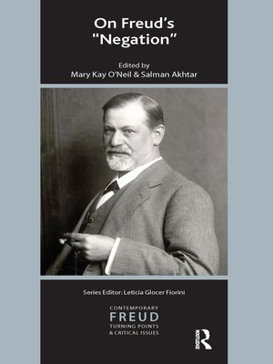 cover image of On Freud's Negation