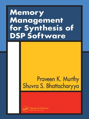 cover image of Memory Management for Synthesis of DSP Software