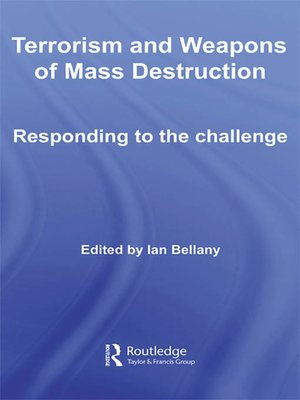 cover image of Terrorism and Weapons of Mass Destruction